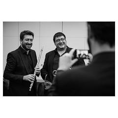 Alvaro and Juan Manuel, Pre concert portraits XPro2 . #xpro2 #fujixpro2 #fujifeed #fujifilm #fujilove #myfujilove #fujifilm_xseries #fujifilmusa #fujifilmnordic #fujifilmme #fujifilm_uk #twitter #musician #portrait #orchestra #geoffroyschied #music #behin