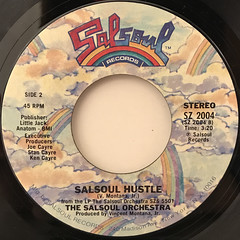 THE SALSOUL ORCHESTRA:TANGERINE(LABEL SIDE-B)