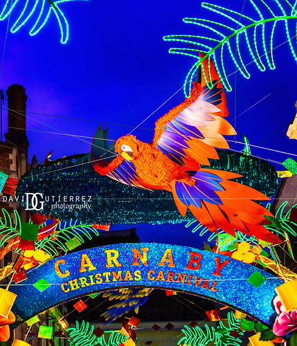 Christmas Carnival - Carnaby Street, London, UK