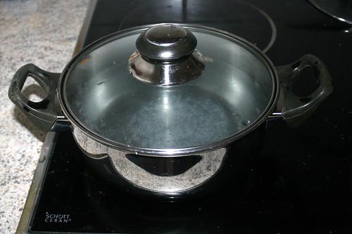 10 - Wasser zum kochen bringen / Bring water to a boil