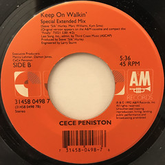 CE CE PENISTON:I'M IN THE MOOD(LABEL SIDE-B)