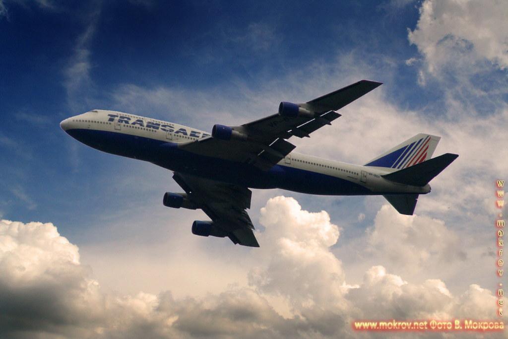 Фотография Боинг-747.