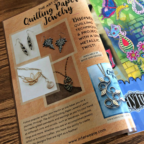 The Art of Quilling Paper Jewelry book