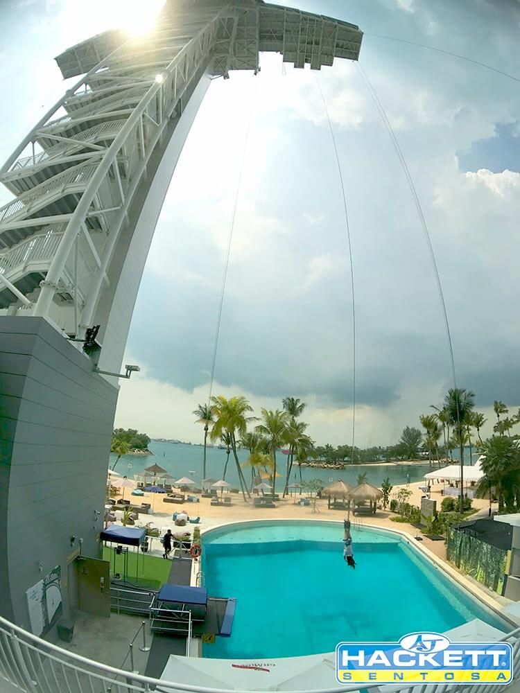 Singapore Bungy Jump
