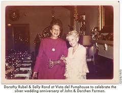 Dorothy Rubel & Sally Rand
