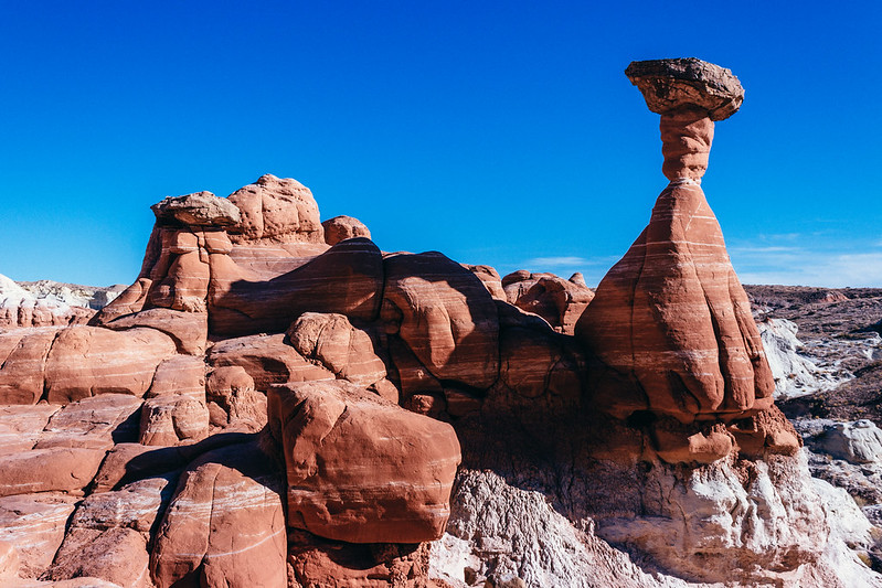 Toadstool Hoodoos, November 11th, 2017