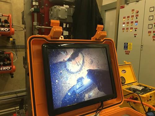 Onderwater video inspectie