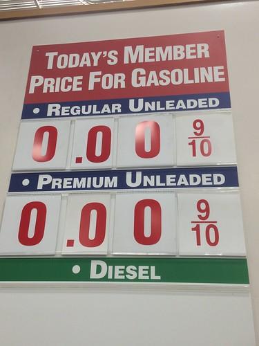 Very cheap gas