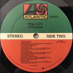 TEN CITY:FOUNDATION(LABEL SIDE-B)