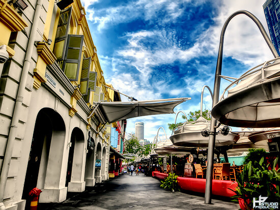 Clarke Quay attractions