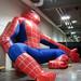 Drunk Giant Spider Man by pageofbats
