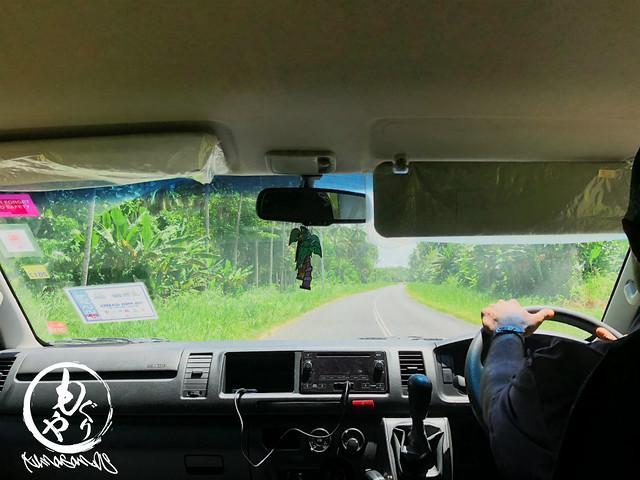 雄大な景色を見ながら思ったよりちゃんと舗装された道で快適ドライブでした♪