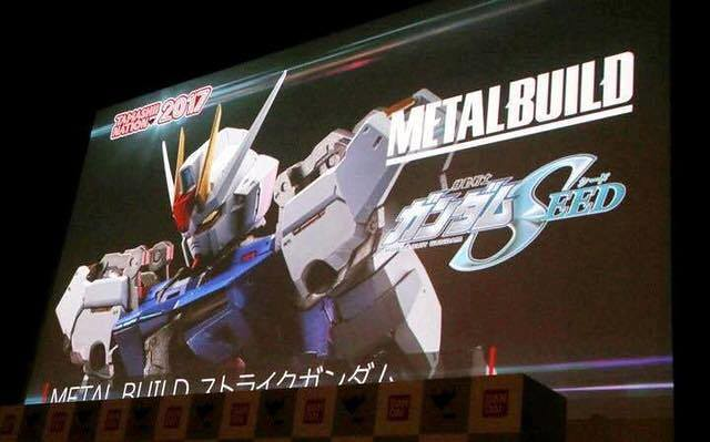 Metal Build Gundam Strike