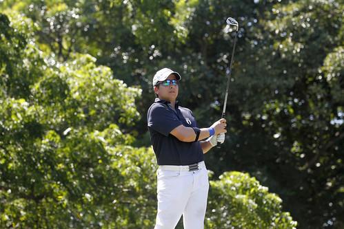 Golf se cuelga tres medallas en Managua 2017