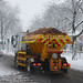 Gritting Spreading on the Stratford Road, Hall Green