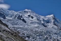 Mont Blanc depuis la gare des glaciers, Chamonix
