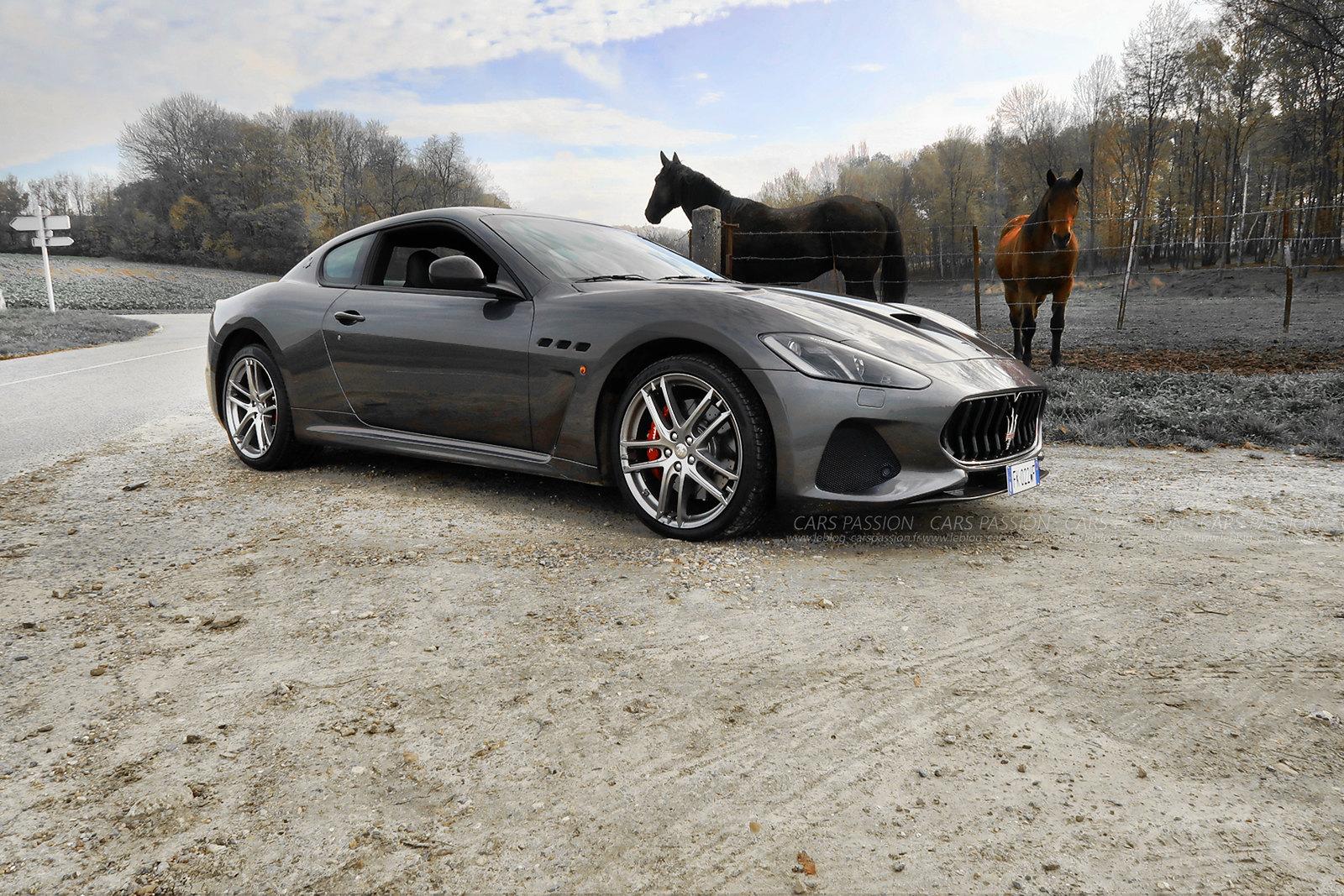 Journée essai gamme Maserati