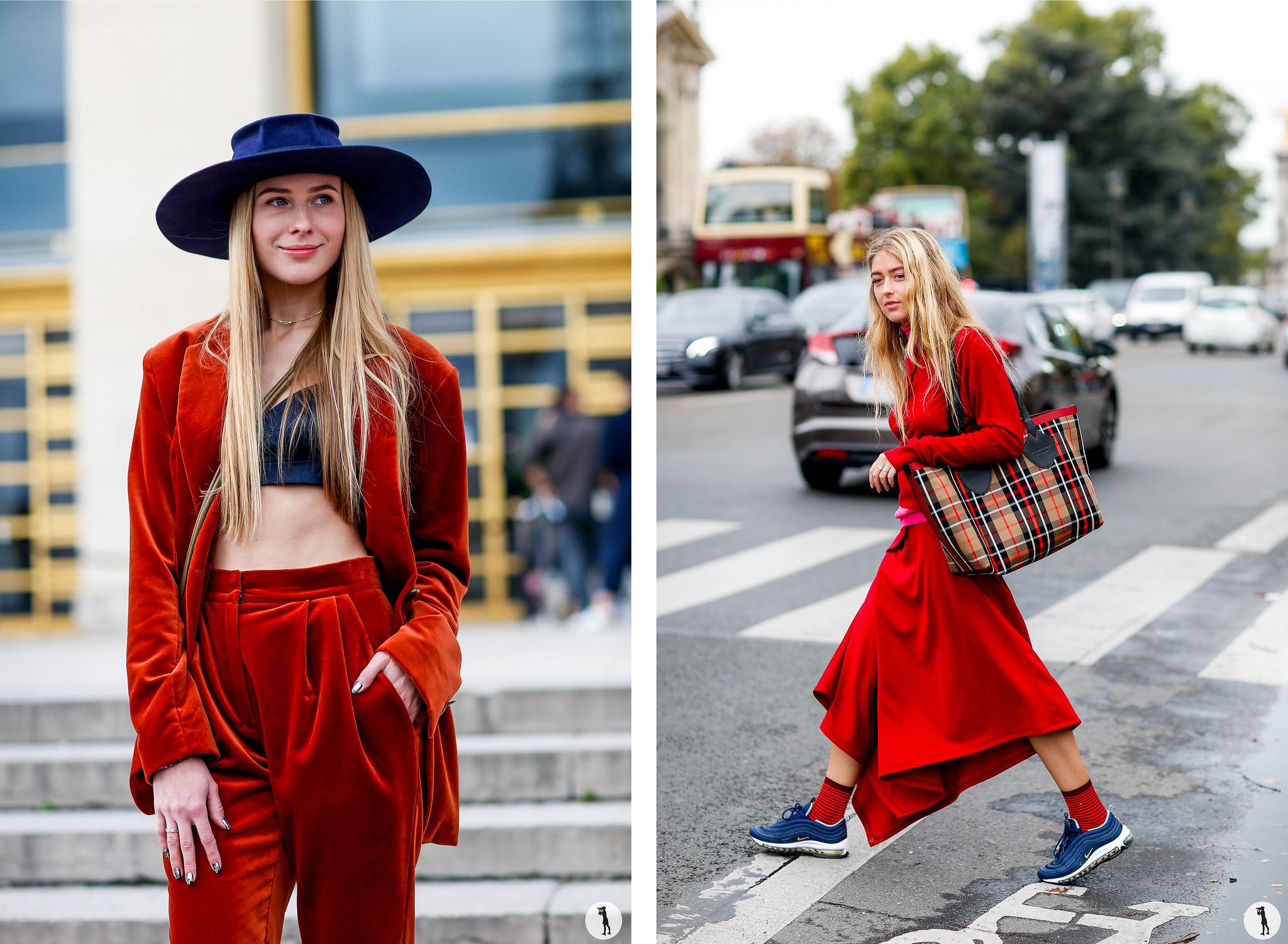 Guest and Emili Sindlev - Paris Fashion Week SS18