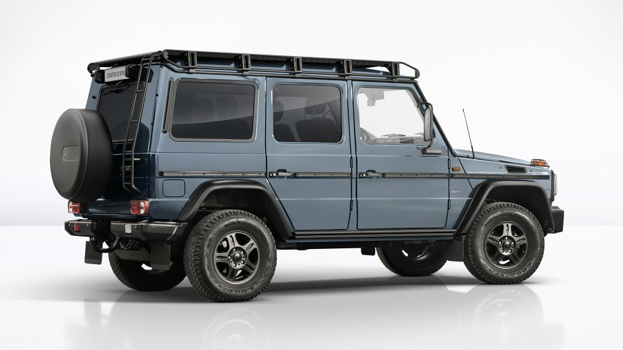mercedes g-class limited edition 4