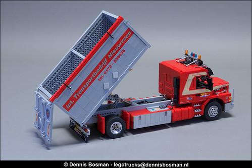Scania T143 bulk hauler