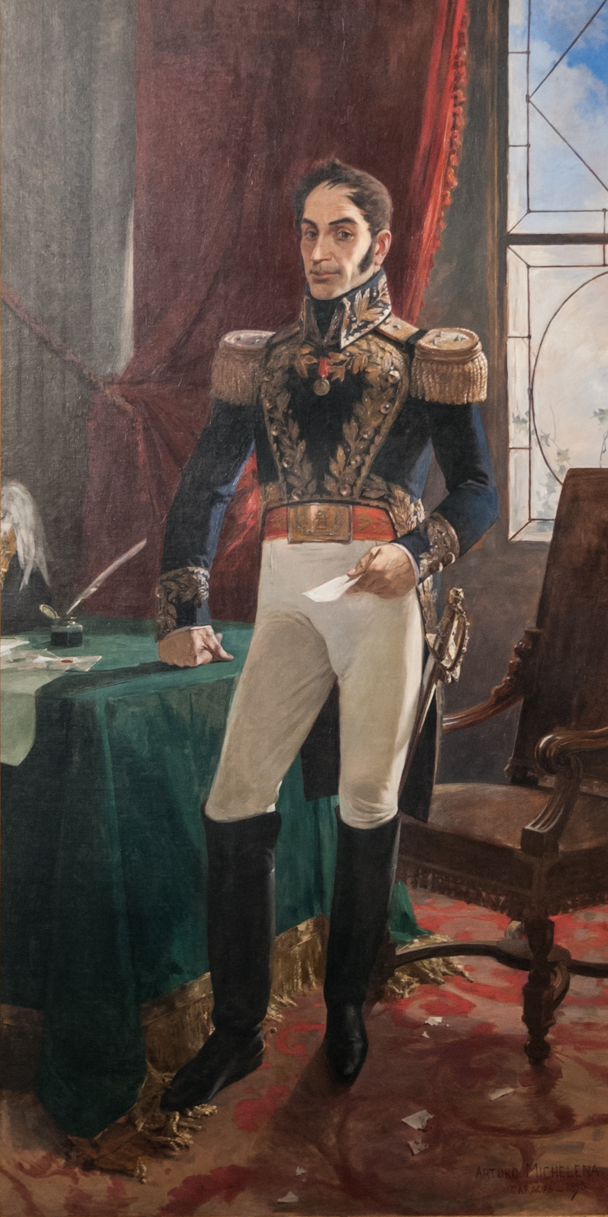 Simón Bolívar, El Libertador, Hero of the Venezuelan War of Independence