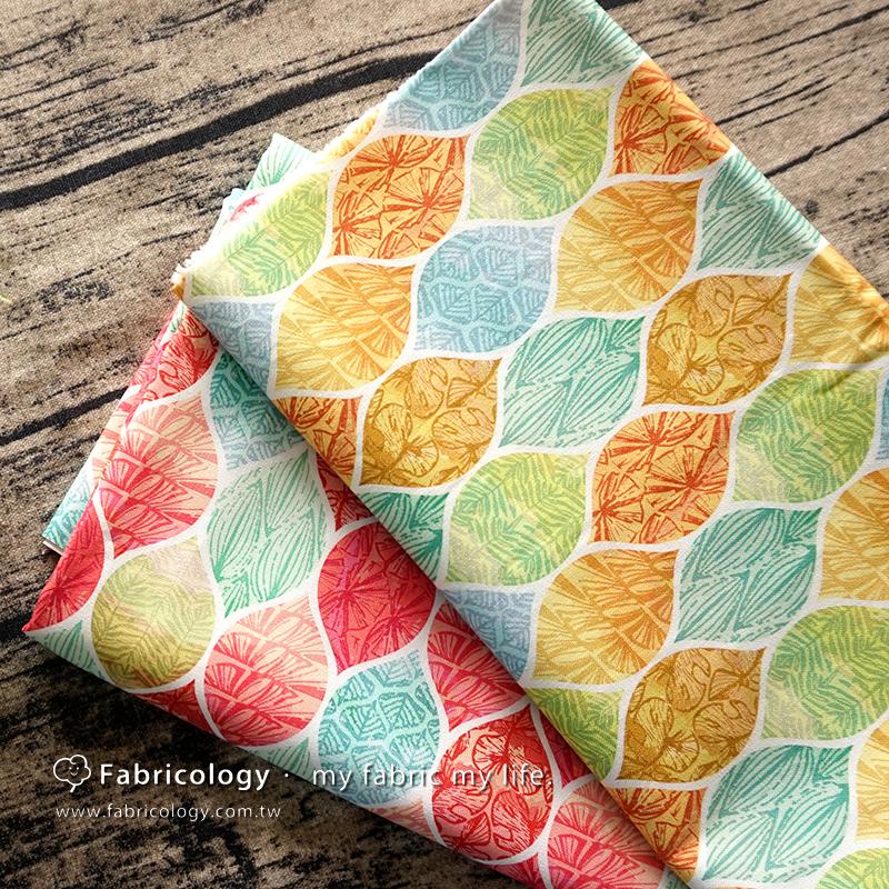 布學盒裝印花布(3尺)摘葉綠葉 手工藝DIy拼布布料 SW001709-5