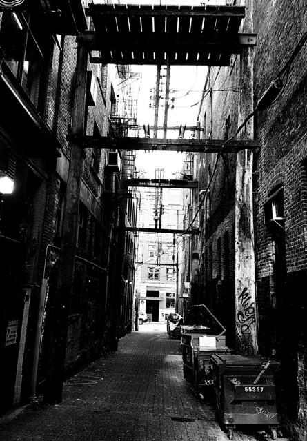 DTES Alley Vancouver