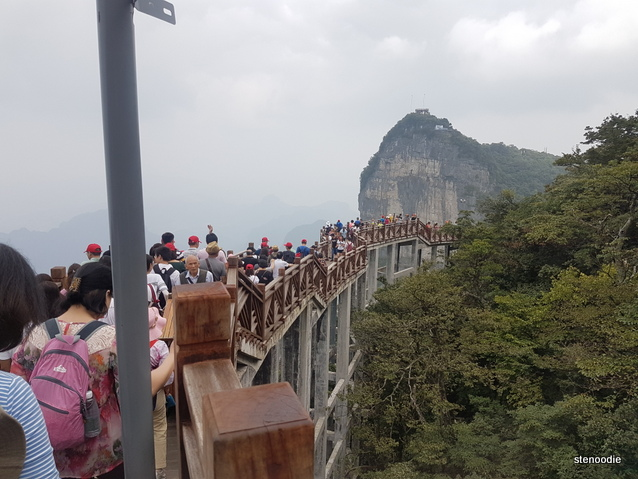 Tianmen Mountain path