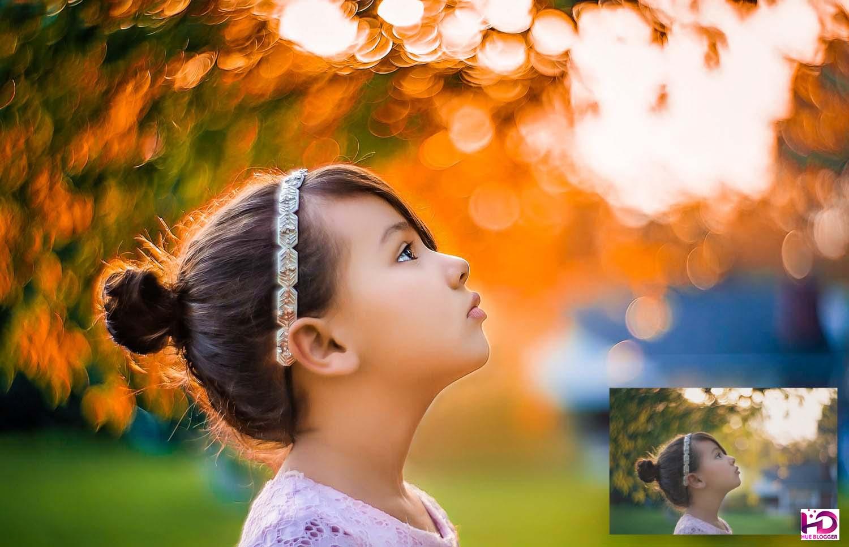 Preset tăng cường màu nắng ấm cho hình ảnh