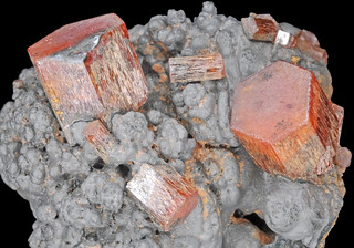 vanadinite, goethite