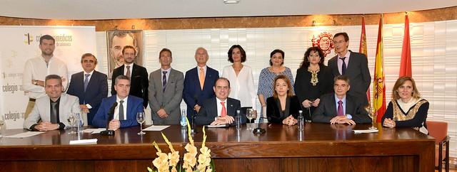 Toma de posesión nueva Junta Directiva COM Salamanca