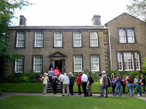 Brontë Parsonage. From Studying Abroad in London: A Step Back in Time in Northern England