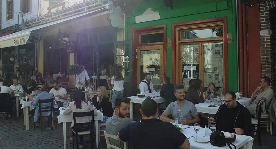 Uit eten in Thessaloniki, Ladadika | Mooistestedentrips.nl