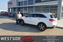 #HappyBirthday to Marvin from Antonio Page at Westside Kia!