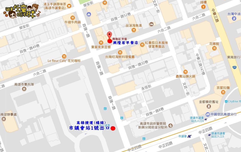 興隆居地圖