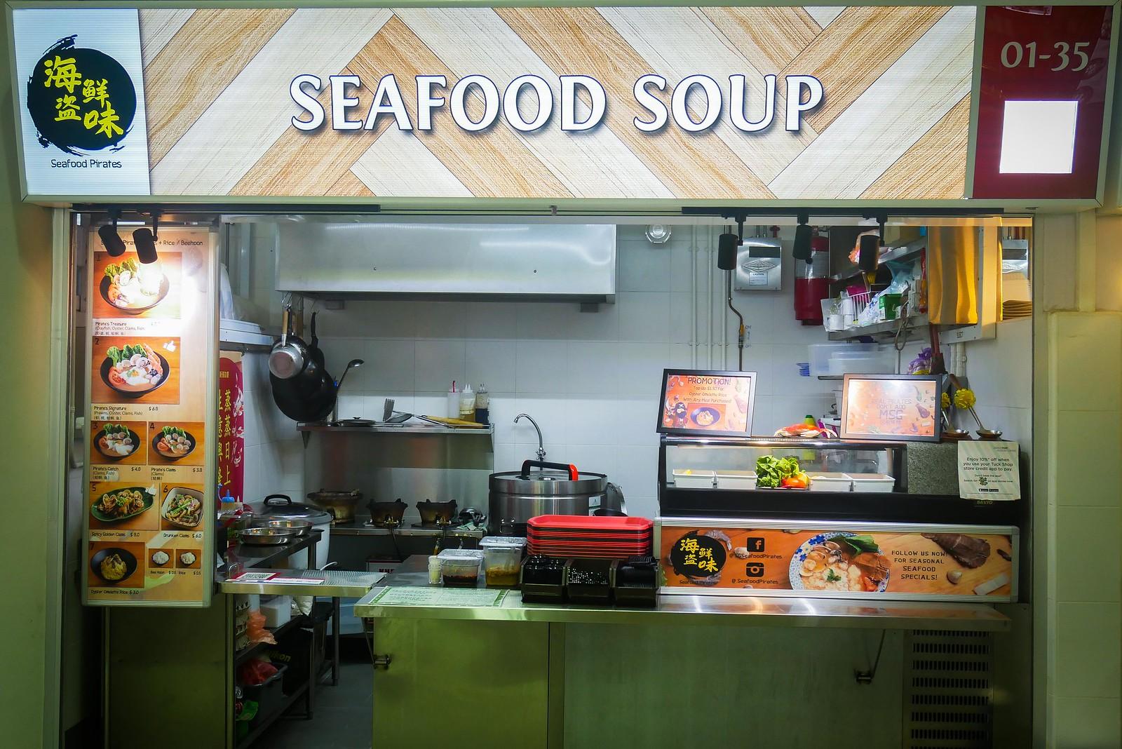 Seafood Pirates stall