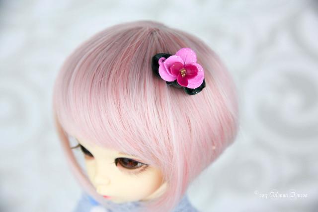 Orchid head pieces