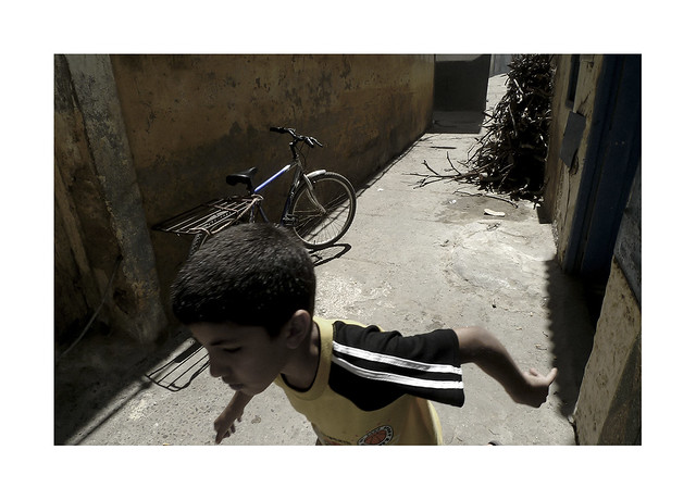 A kid.  ( Marrakesh )