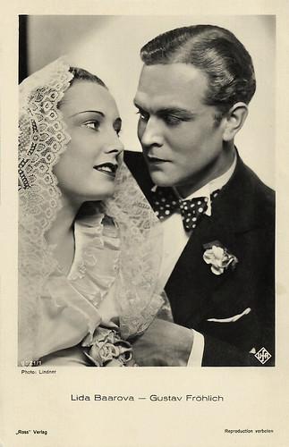 Lida Baarova and Gustav Fröhlich in Barcarole (1935)