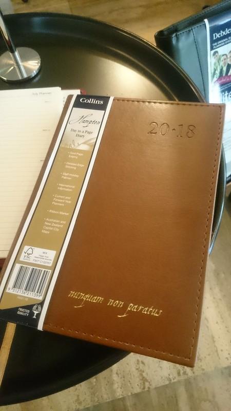 collins hampton 2018 diary