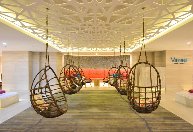 savoy hotel boracay hanging seats lounge