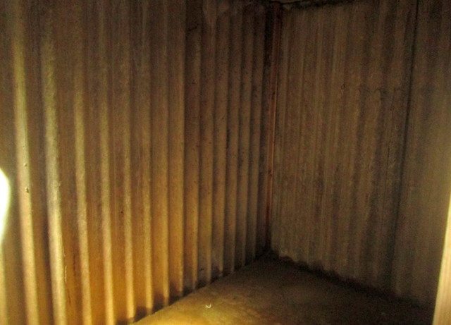 "Air-raid Shelter ""Room"", Lyness Naval Museum, Hoy, Orkney"