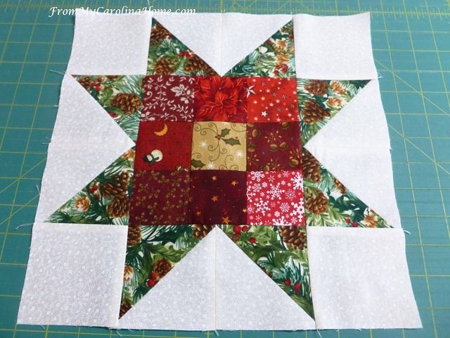 Nine Patch Star at From My Carolina Hoem