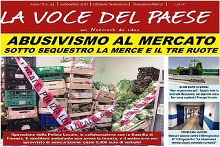 Noicattaro. Prima pagina n. 44-2017 front