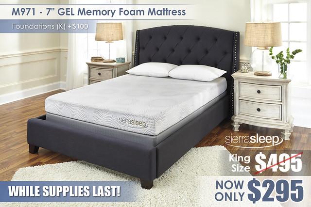 M971 7in GEL Memory Sierra Sleep LimitedSupply