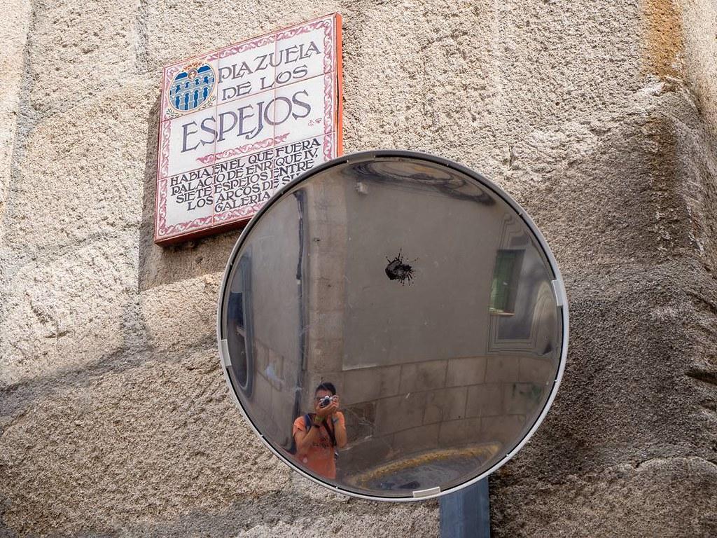 Calle de los espejos. #segovia #mirror #autofoto #reflejos #summer2017 #photography