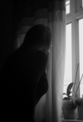 Canon EOS 60D - My wife, Lisa at the Window - 2