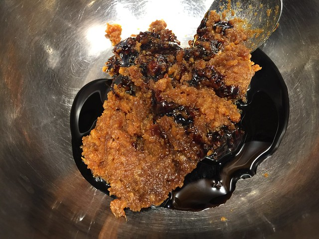 Miso / Blackstrap molasses