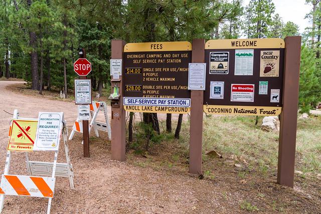 Camping: Knoll Lake Campground