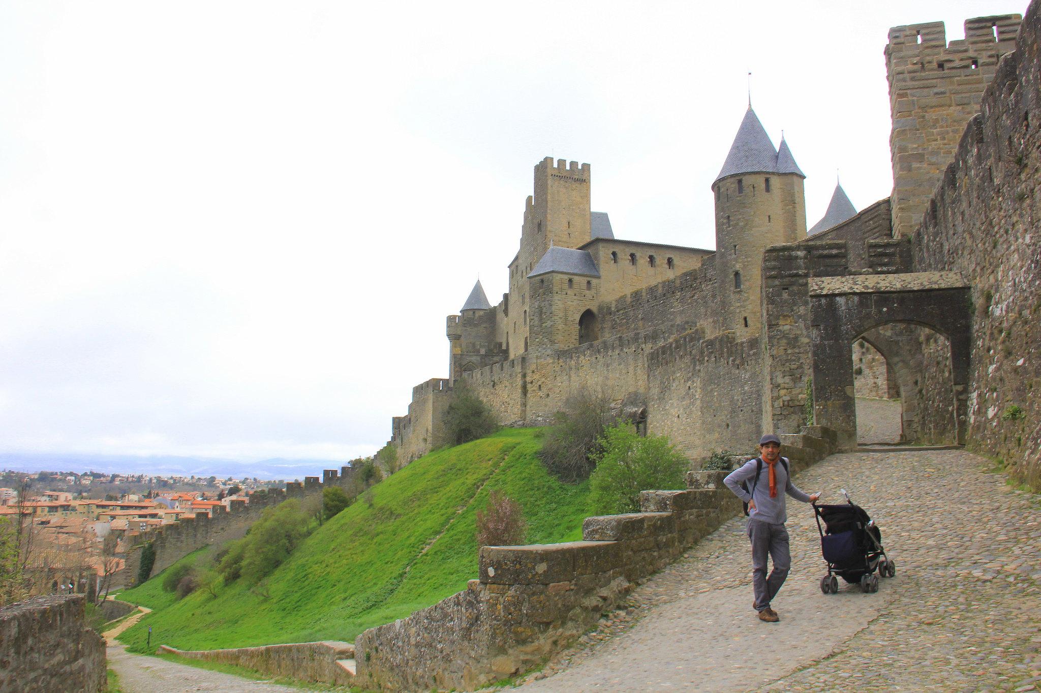 Carcassonne is a popular tourist destination